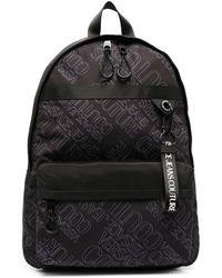Versace Jeans Couture Рюкзак На Молнии С Логотипом - Черный