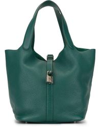 Hermès Pre-owned Picotin Lock Mm Tote - Green