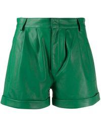FEDERICA TOSI High Waist Shorts - Groen