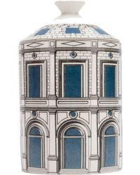 Fornasetti Palazzo Celeste Scented Candle - White