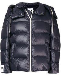 DROMe パデッドジャケット - ブルー