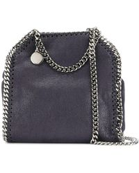 Stella McCartney Tiny Falabella Tote - Blue