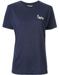 Baum und Pferdgarten Jolee Love Tシャツ - ブルー
