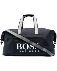 BOSS by Hugo Boss - ロゴ ボストンバッグ - Lyst