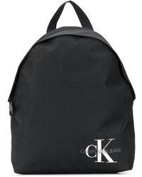 Calvin Klein Рюкзак С Логотипом - Черный