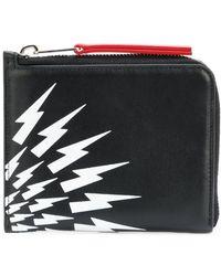 Neil Barrett - Lightning Print Wallet - Lyst