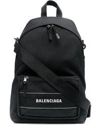 Balenciaga Рюкзак Sport С Ремнем На Плечо - Черный