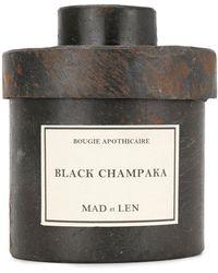 Mad Et Len Black Champaka Candle