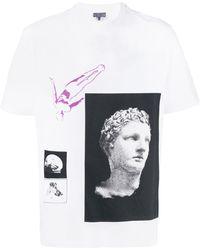 Lanvin Greek Tシャツ - マルチカラー