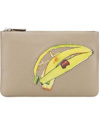 Fendi - Banana Zipped Pouch - Lyst
