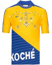 Koche デコラティブ Tシャツ - ブルー