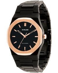 D1 Milano Polycarb Gloaming 40mm Watch - Black