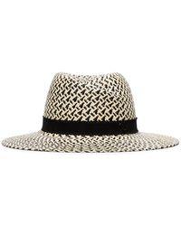 Maison Michel Virginie Panama Hat - Multicolour