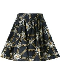 Fausto Puglisi | Sun And Chain Print Skirt | Lyst