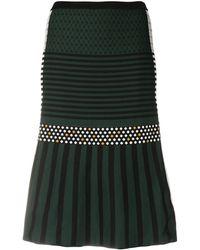 MCM ジャカード スカート - ブラック
