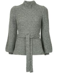 Co. - Belted Bell Sleeve Sweater - Lyst