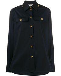 Givenchy - Camisa con botones del logo - Lyst