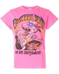 MadeWorn Camiseta con estampado Grateful Dead - Rosa