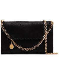 Stella McCartney Mini Falabella Crossbody Bag - Black