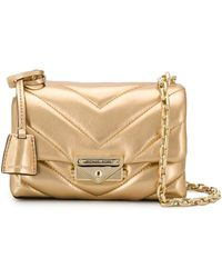 MICHAEL Michael Kors Quilted Leather Bag - Metallic