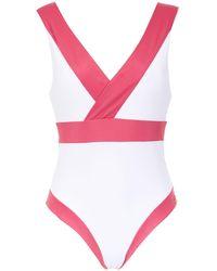 Brigitte Bardot Купальник С Панельным Дизайном - Розовый