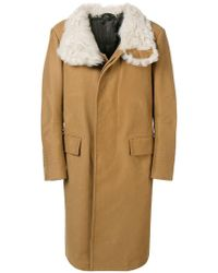 Tom Ford Пальто Длины Миди - Естественный