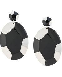 Natori Deco Clip-on Earrings - Multicolour