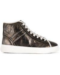 Hogan Hi-top Sneakers - Metallic