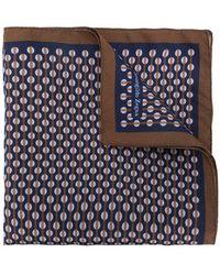 Ermenegildo Zegna - Dotted Print Pocket Square - Lyst