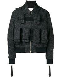Matthew Miller - Barric Wool Bomber Jacket - Lyst