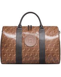 Fendi Reisetasche mit Monogramm - Braun