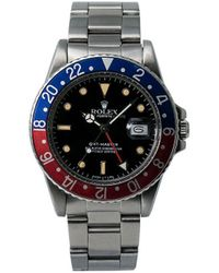 Rolex Наручные Часы Gmt-master Pre-owned 40 Мм 1968-го Года - Черный