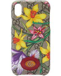 Gucci Чехол Для Iphone Xr С Принтом Flora - Многоцветный