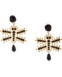 Etro - Dragonfly Earrings - Lyst