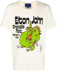 Gucci - ' Elton John' T-Shirt - Lyst
