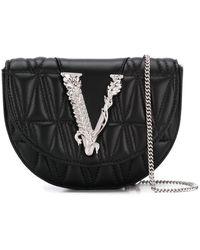 Versace Virtus Gewatteerde Heuptas - Zwart