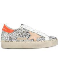 Golden Goose Deluxe Brand 'Superstar' Sneakers im Glitter-Look - Mettallic