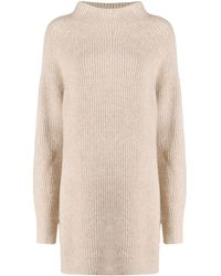 By Malene Birger Roll Neck Sweater - Natural