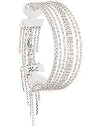 Karl Lagerfeld - K Fringe Bracelet - Lyst