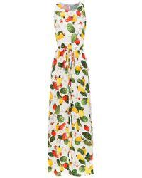 Isolda - Printed Rebeca Dress - Lyst