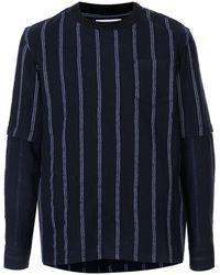 Sacai - ストライプ セーター - Lyst