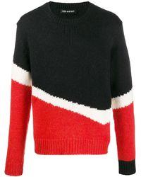 Neil Barrett カラーブロック セーター - ブラック