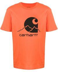 Carhartt WIP Outdoor Tシャツ - オレンジ