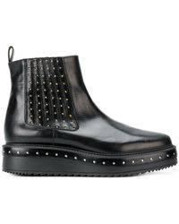 Albano - Studded Platform Chelsea Boots - Lyst
