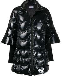 RED Valentino パデッドコート - ブラック