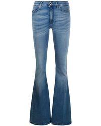 Dondup Jeans mit ausgestelltem Bein - Blau
