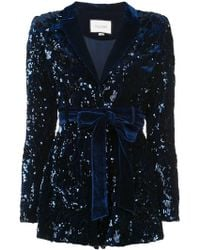 Alexis - Sequin Embellished Playsuit - Lyst