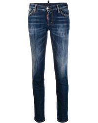 DSquared² Skinny Jeans - Blauw