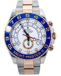 Rolex Orologio Yacht-Master II 44mm in oro rosa 18k e acciaio inossidabile Pre-owned - Bianco