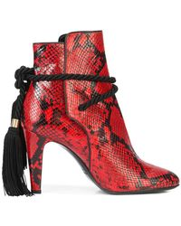 Philosophy Di Lorenzo Serafini - Tassel Tie Ankle Boots - Lyst